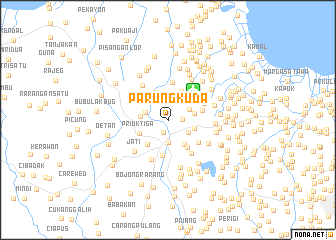 map of Parungkuda