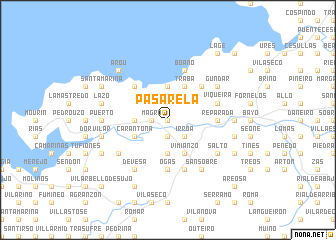 map of Pasarela