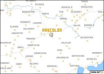 map of Pascolon