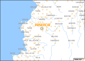 map of Pasencia