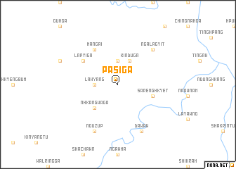 map of Pasi Ga