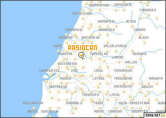 map of Pasiocan