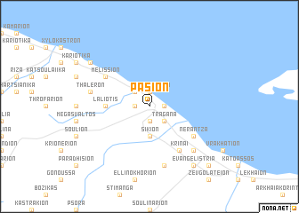 map of Pásion