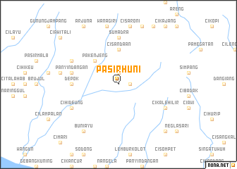 map of Pasirhuni