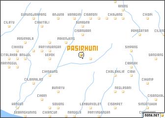 map of Pasirhuni