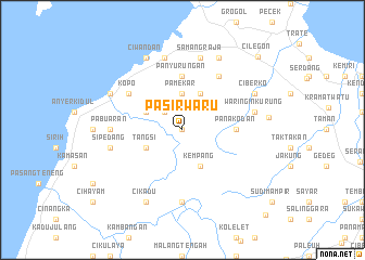 map of Pasirwaru