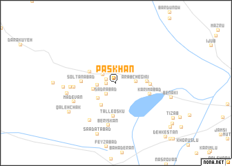 map of Pāskhan