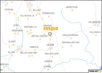 map of Pasqua