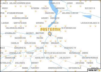 map of Pasternik