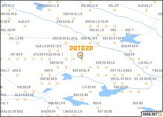 map of Påtarp