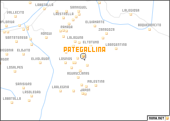 map of Pategallina