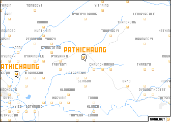 map of Pathichaung