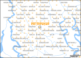 map of Pātnipukur