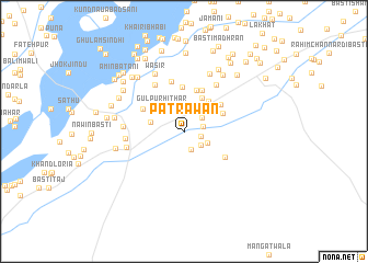 map of Patrāwān