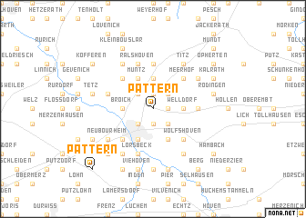 map of Pattern