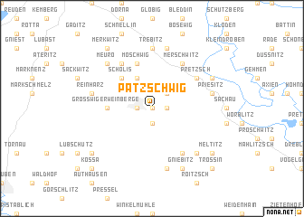 map of Patzschwig
