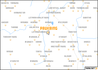 map of Paukaing