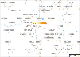 map of Paukaing