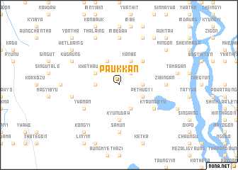 map of Paukkan