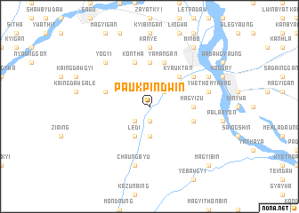 map of Paukpindwin