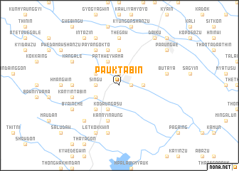 map of Pauktabin