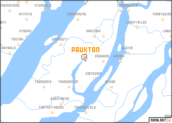 map of Pauktan
