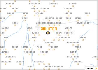 map of Paukton