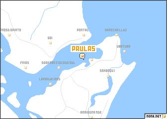 map of Paulas