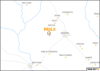 map of Paulk