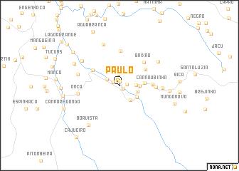 map of Paulo