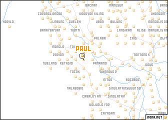map of Paul
