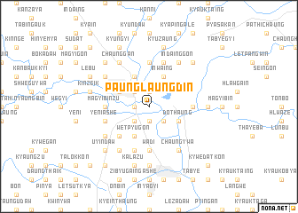 map of Paunglaungdin