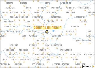 map of Paunglaungdin
