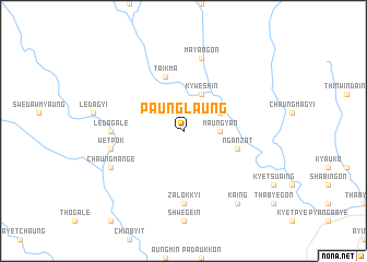 map of Paunglaung