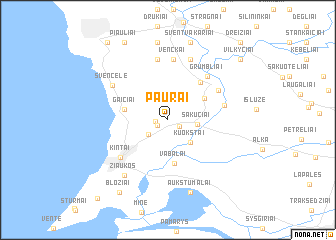 map of Paurai