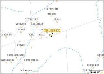 map of Pau Sêco