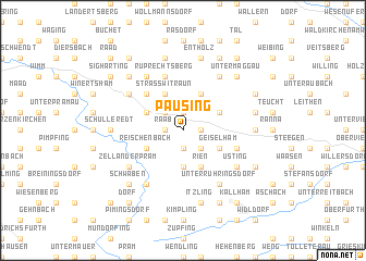 map of Pausing