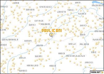 map of Pavličani