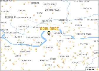 map of Pavlovac