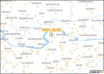 map of Pavlovac