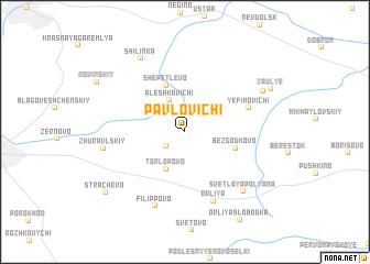 map of Pavlovichi