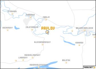 map of Pavlov