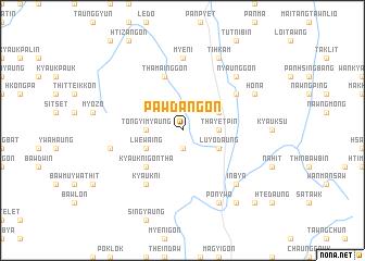 map of Pawdangon