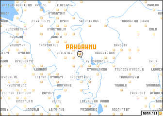 map of Pawdawmu