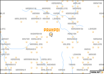 map of Pawhpoi