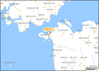 map of Pawic