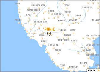 map of Pawic