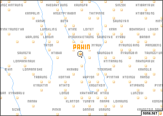map of Paw-in