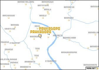 map of Pawkadopo