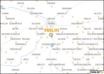 map of Pawliki